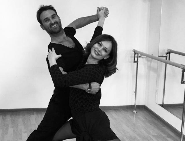 С чистого листа: Ирина Безрукова нашла себе танцора