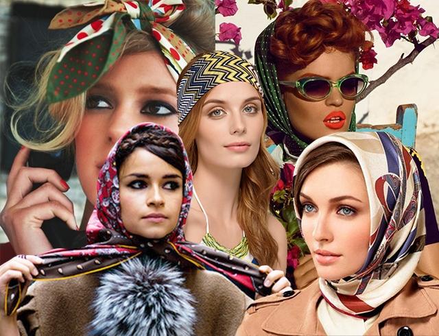 Как красиво завязать платок на голове: 11 советов