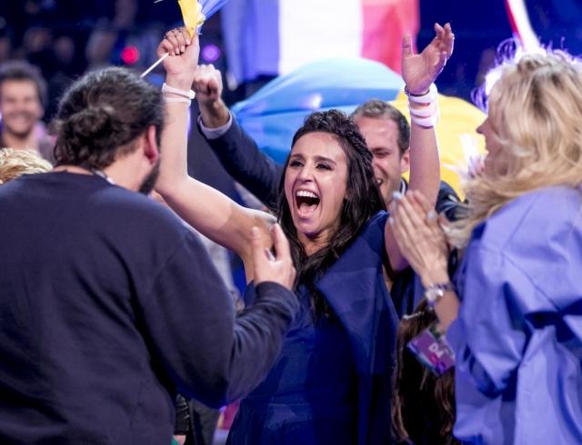 Смотреть выступление Джамалы в финале Евровидения в 2016 году онлайн ВИДЕО
