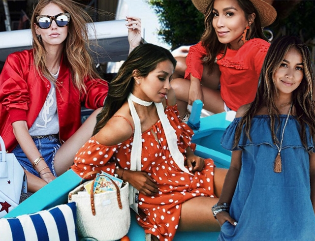 Как модные девушки одеваются летом: 70 стильных образов из Instagram