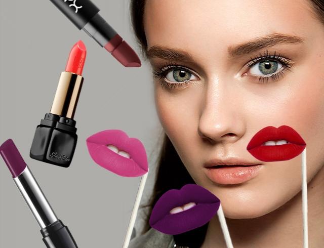 Какой модный цвет помады идеально подходит вашим глазам? Инфографика
