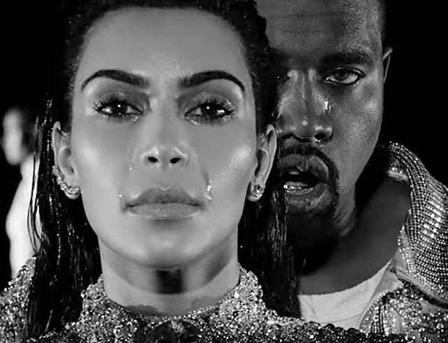 Ким Кардашьян и Канье Уэст плачут в новой рекламной кампании Balmain (ВИДЕО)
