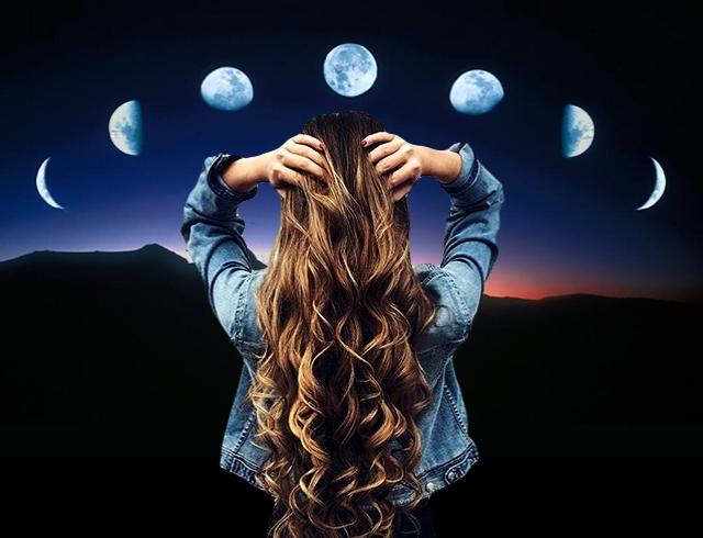 Значение фазы Луны на стрижку и окрашивание волос: характеристика благоприятных дней для роста и стойкости по лунному календарю