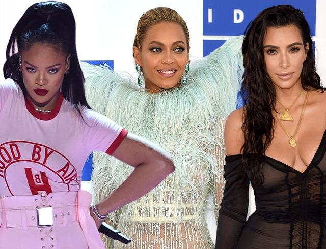 Голосуем! Красная дорожка MTV Video Music Awards-2016: Бейонсе, Рианна, Ким Кардашьян и другие звезды в своих самых модных нарядах