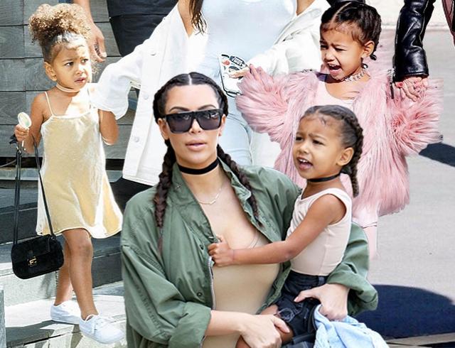 Как это – быть трехлетней иконой стиля: лучшие выходы дочки Ким Кардашьян Норт Уэст