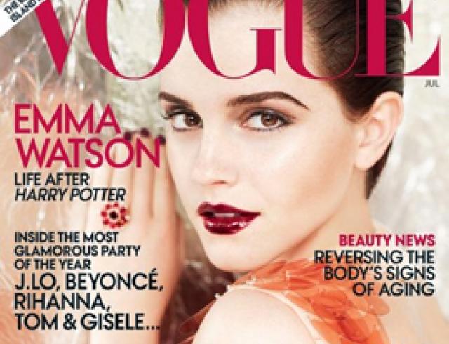 Неузнаваемая Эмма Уотсон в американском Vogue. ФОТО