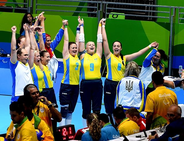 Украинские паралимпийцы установили рекорд в Рио