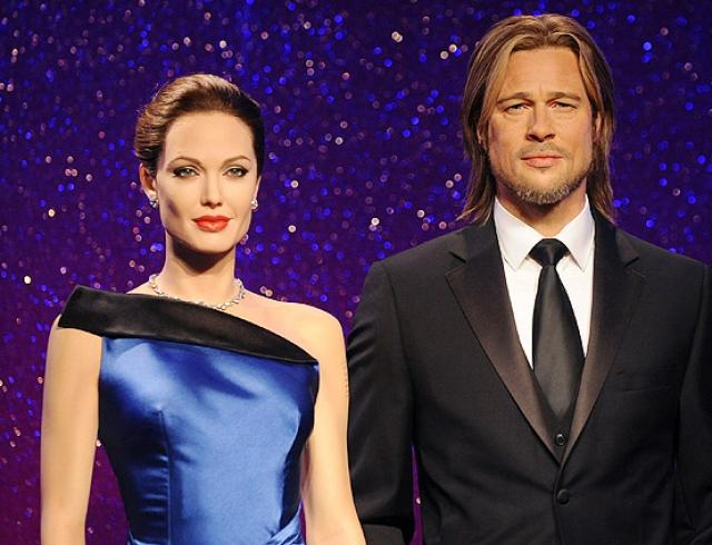 В музее мадам Тюссо разъединили восковых Джоли и Питта (ФОТО)