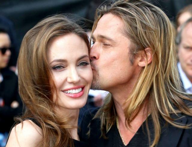 """Брэд Питт о расставании с Анджелиной Джоли: """"Она ненормальная, но я все еще люблю ее"""""""