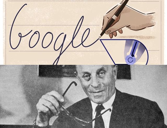 Ласло Биро – акула пера, придумавшая шариковую ручку: Google посвятил дудл находчивому изобретателю