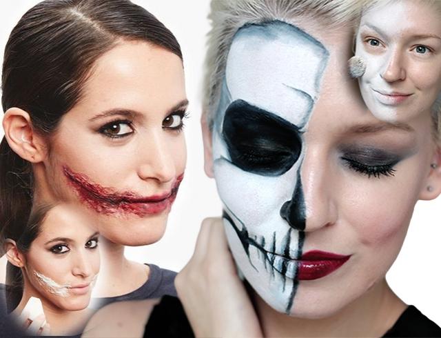 Грим на Хэллоуин: как сделать в домашних условиях Секреты