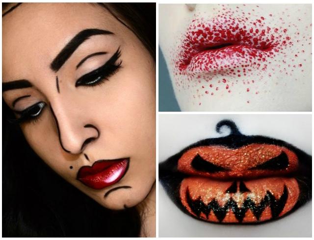 Простой макияж на Хэллоуин, создаем образ самостоятельно For 22