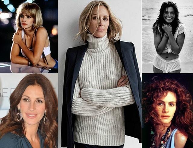 Эволюция стиля Джулии Робертс: от пацанки до дамы