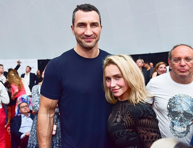 Счастливы вместе: Владимир Кличко и Хайден Панеттьери появились на выставке в Майами