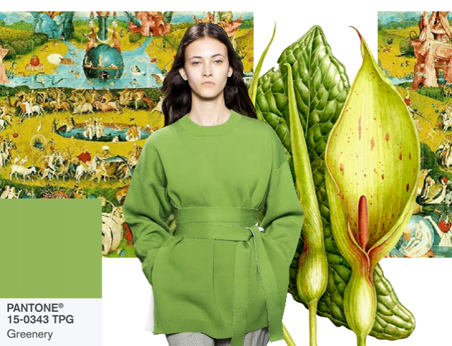 Сад земных наслаждений: как и с чем носить главный цвет 2017 года