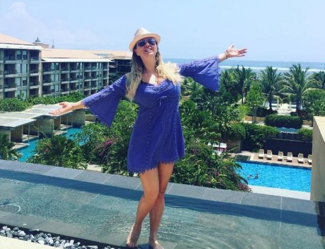 Как отдыхают звезды: Анна Семенович хвастается успехами в похудении на Бали (ФОТО)