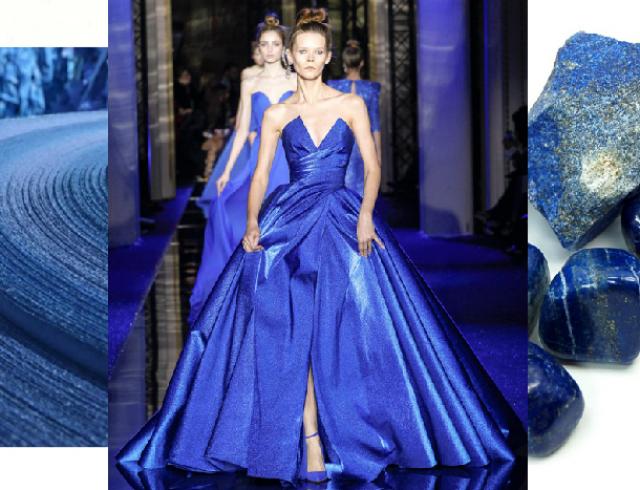 Лазурный синий: вдохновляющая Ирина Кравченко в Zuhair Murad Couture