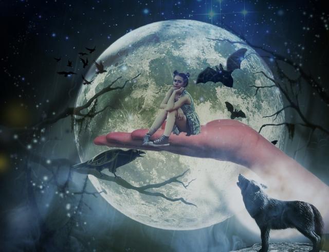 Чего ждать от полутеневого лунного затмения и полнолуния в феврале 2017 в канун Дня влюбленных