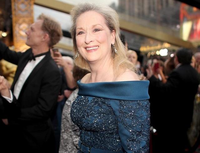 Оскар-2017: самая скандальная персона церемонии Мерил Стрип на красной дорожке