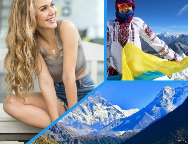 Как покорять вершины: хрупкая 24-летняя Анастасия Зайцева рассказывает о восхождении на Айленд-пик (тренировочная высота перед Эверестом)