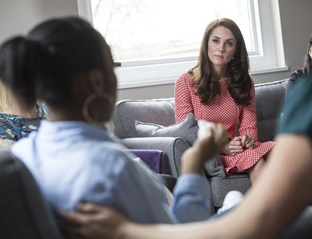 Кейт Миддлтон откровенно рассказала о послеродовой депрессии