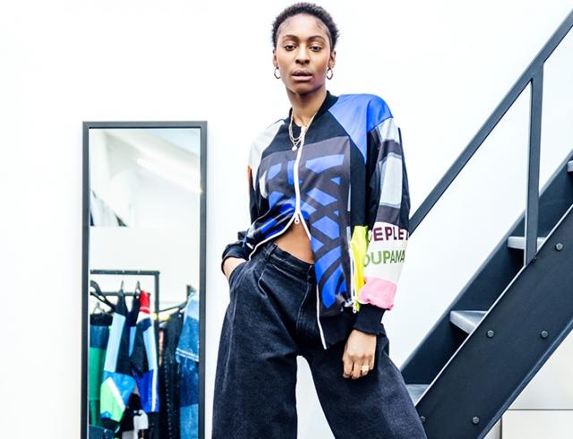 Reworked Sportswear: Ксения Шнайдер запускает линейку одежды из винтажных вещей