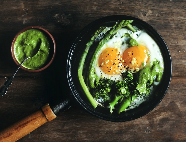 Самый актуальный цвет 2017 в твоем рационе: зеленые рецепты для гурманов