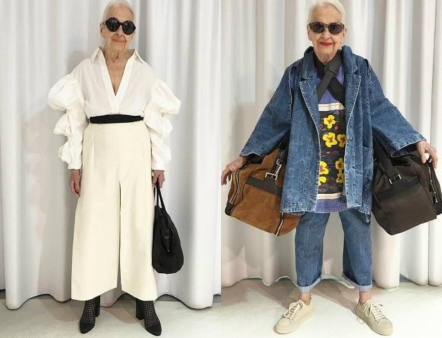 Когда стареть не страшно: 95-летняя австрийка стала иконой стиля