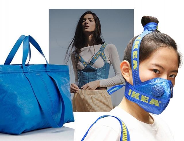 IKEA Big Blue Bag: самая модная сумка сезона ― пример модного апсайклинга