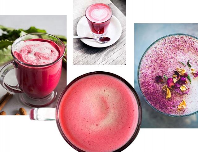 Почему модный розовый латте так полезен: рецепт кофе из Инстаграма