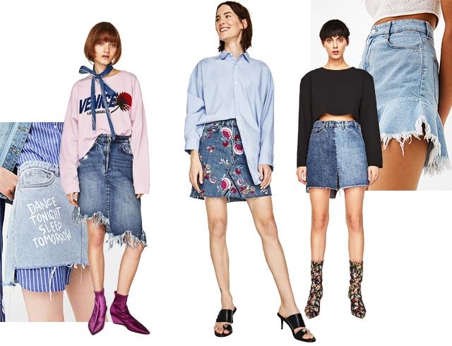 Век живи — век носи: модные джинсовые юбки