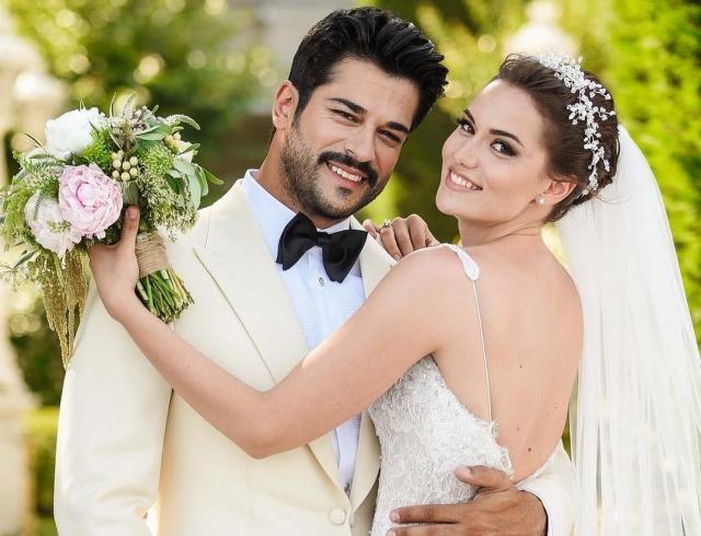 Свадьба по-турецки: звезда сериалов и любимец женщин Бурак Озчивит женился на Фахрие Эвджен! (ФОТО+ВИДЕО)