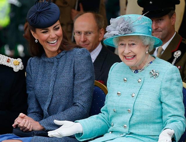 Кейт Миддлтон откровенно поведала о своих отношениях с королевой Елизаветой II
