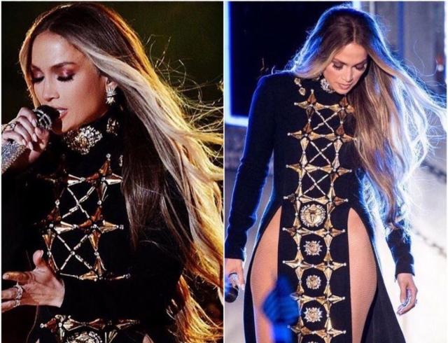 Откровеннее некуда: Дженнифер Лопес появилась на концерте без нижнего белья (ФОТО)