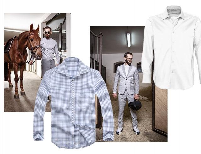 Андре Тан советует: как правильно подобрать рубашку к брюкам