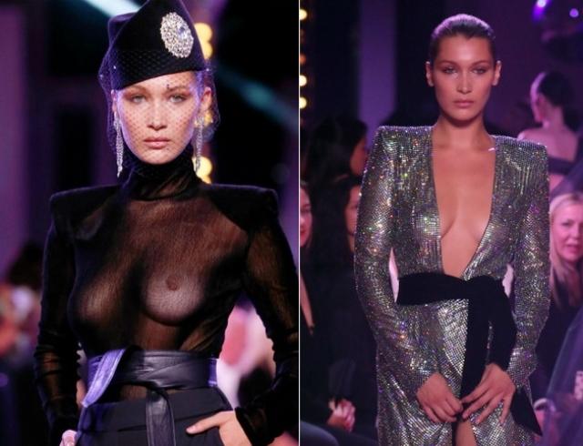 Белла Хадид стала самой обсуждаемой моделью Недели моды Haute Couture из-за откровенных нарядов (ФОТО)