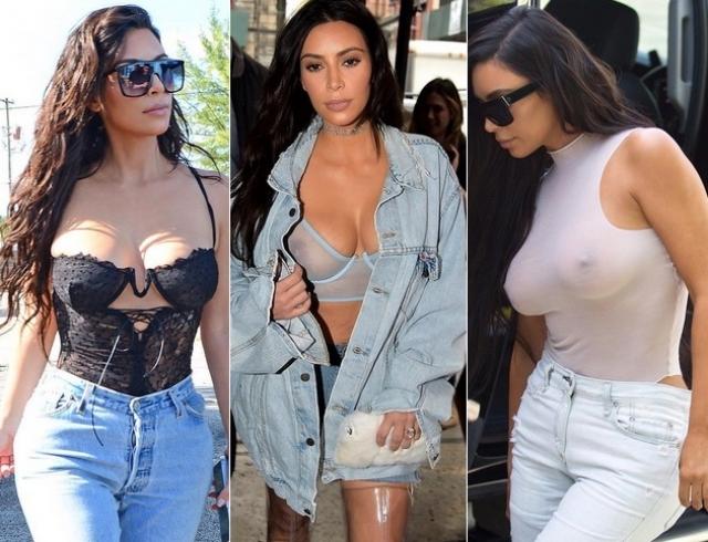 Ким Кардашьян и ее белье: самые откровенные и сексуальные образы звезды реалити-шоу