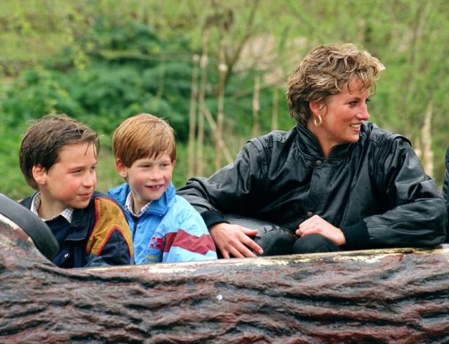 """Принцы Уильям и Гарри о последнем разговоре с Дианой: """"Мы просто сказали: """"Пока, увидимся позже, можно пойти поиграть?"""""""