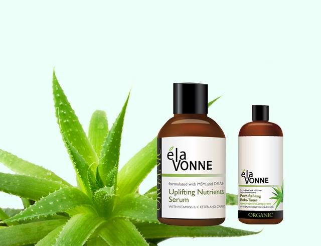 Органическая косметика Elavonne: тоник и сыроватка для лица