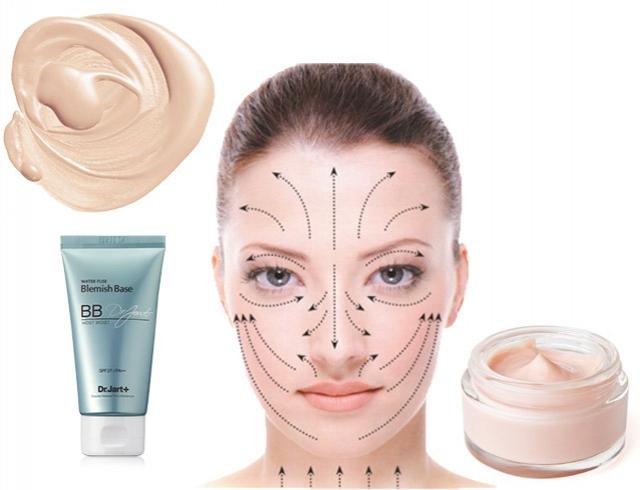 Как правильно наносить крем на лицо по массажным линиям