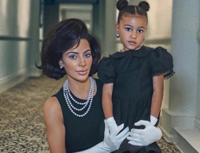 Амбициозные планы: Ким Кардашьян в образе Джеки Кеннеди появилась на обложке глянца (ФОТО)