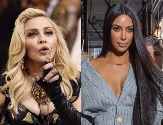 Искусство пародии от Мадонны: поп-дива скопировала манеру разговора Ким Кардашьян (ВИДЕО)