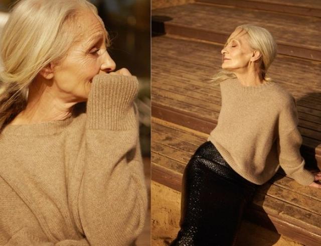 У красоты нет возраста: 62-летняя модель снялась в лукбуке 12Storeez