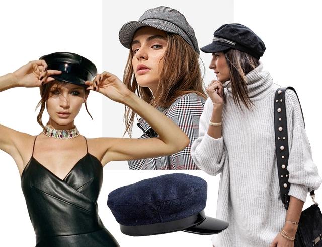 Взять под козырек: как и с чем носить baker boy cap этой осенью