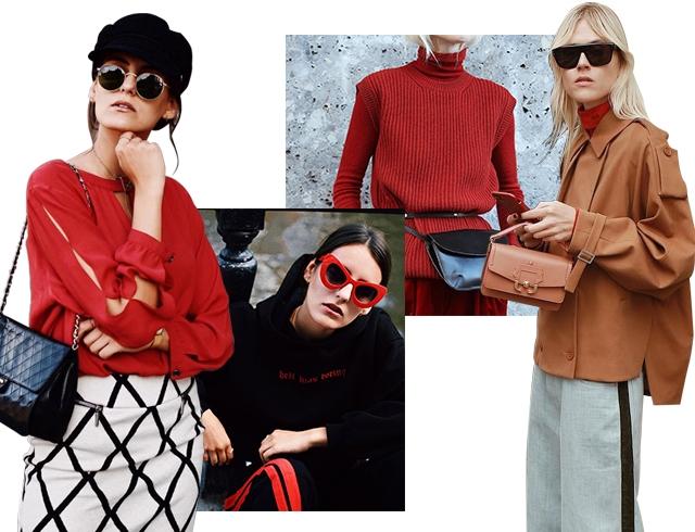 Как модные девушки одеваются осенью: 70 стильных образов из Instagram