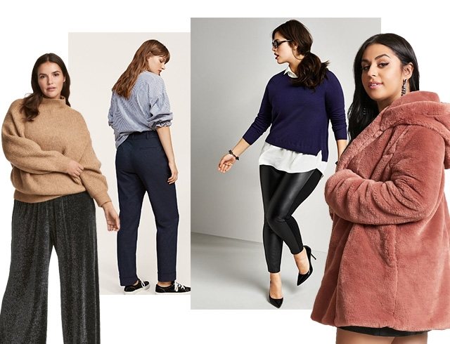 Где одеваться девушкам plus size: стильная одежда украинских и зарубежных брендов