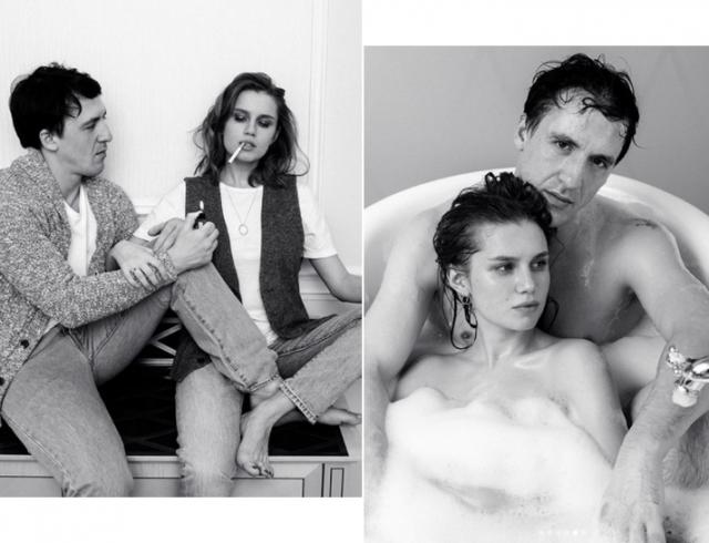 Артур Смолянинов и Дарья Мельникова разделись для совместной съемки: первая фотосессия пары