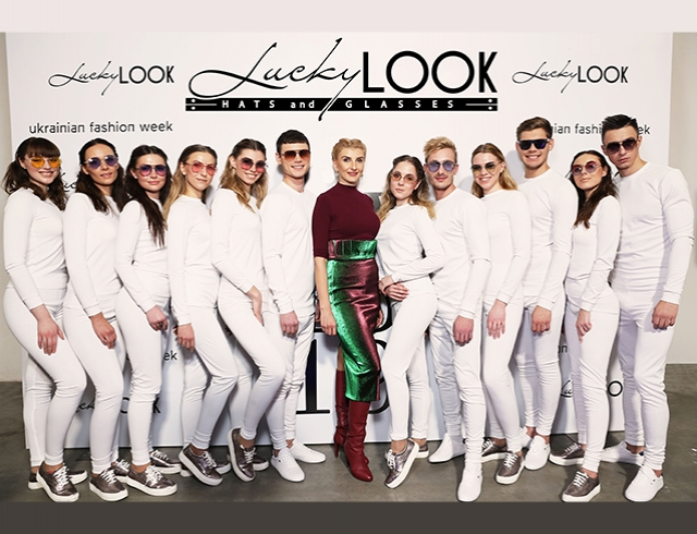 Показ авторской коллекции очков Татьяны Тучи  под брендом LuckyLOOK в рамках Ukrainian Fashion Week