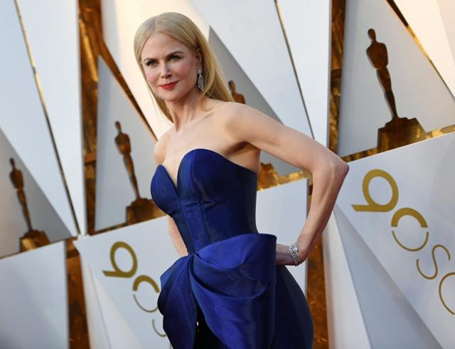 """Смело! Николь Кидман восхитила экстравагантным образом на премии """"Оскар-2018"""" (ФОТО)"""