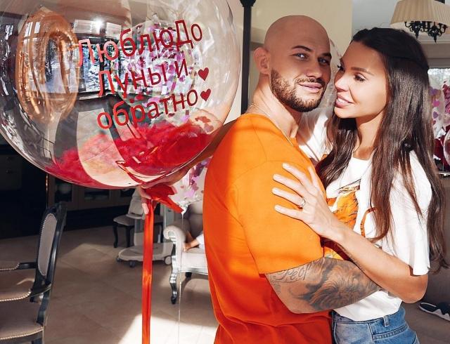 Всем на зависть: рэпер Джиган очень романтично поздравил Оксану Самойлову с наступающим 8 Марта (ВИДЕО)